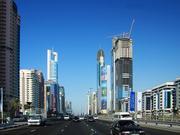 一些在迪拜的摩天大楼